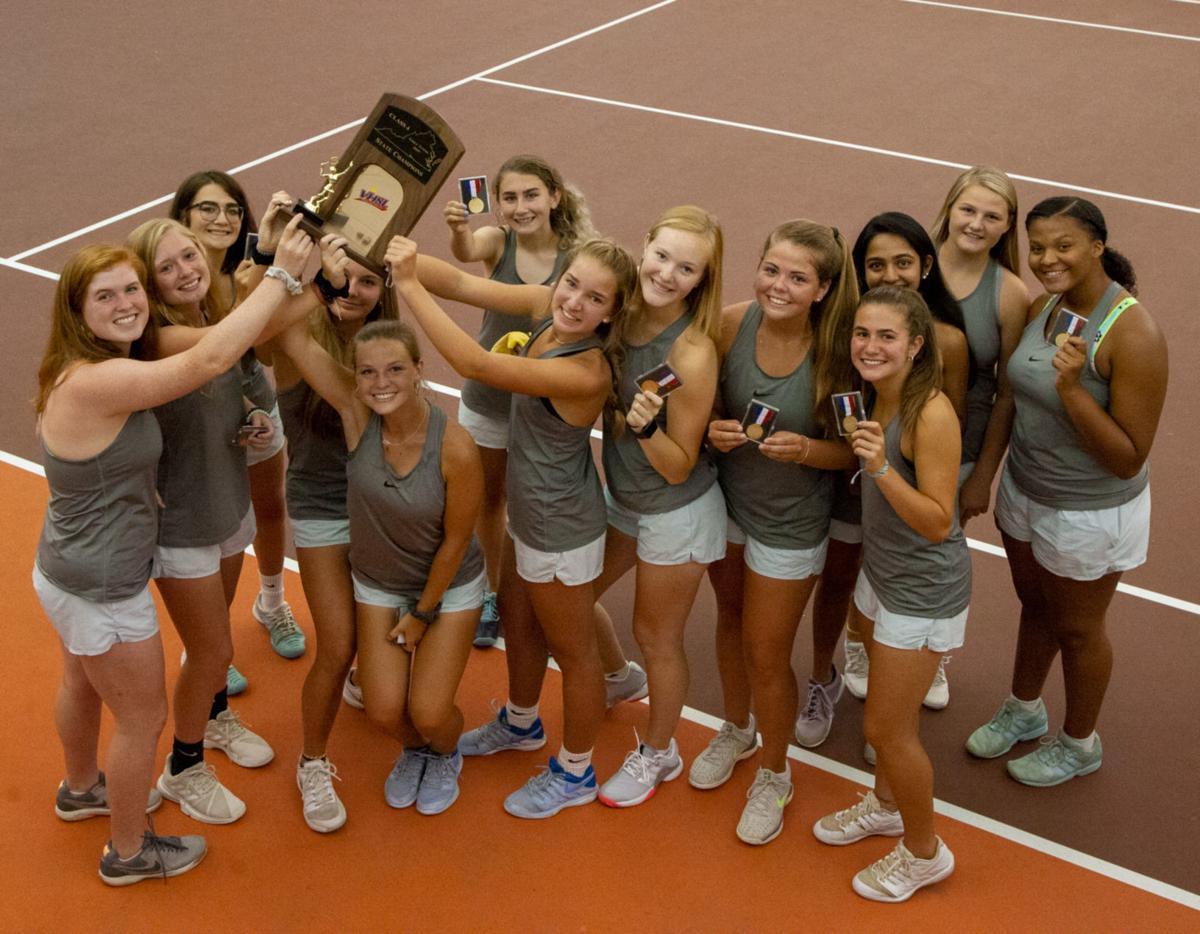 VHSL Class 4 tennis: Trophy