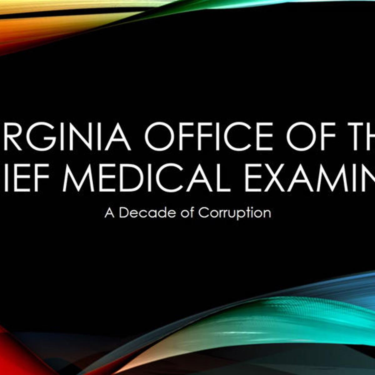 Assistant medical examiner in Richmond alleges wrongdoing at ...