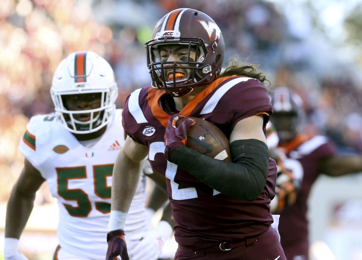 Miami Virginia Tech Football