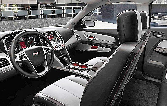 2016 Gmc Terrain Interior Richmond Drives Vehicle Features