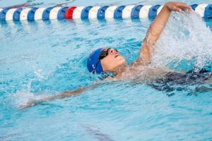Lenart has big night for Racers in pool and out