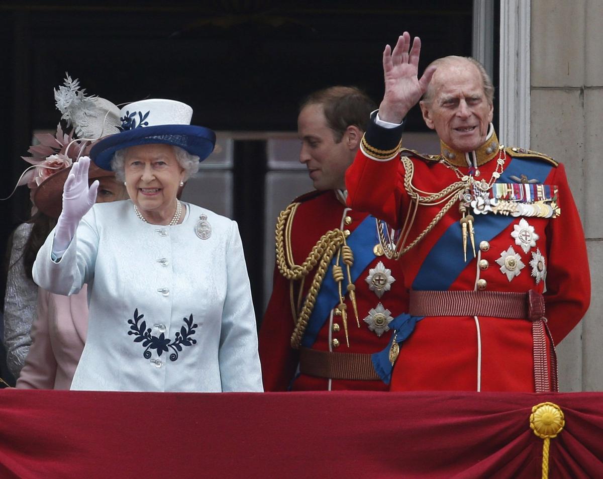 Britain Royals Queen's Birthday Parade