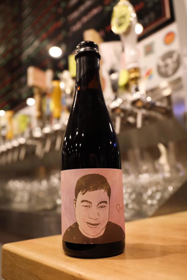 QUY FOREVER beer from The Veil