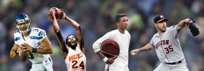 Greatest athletes collage