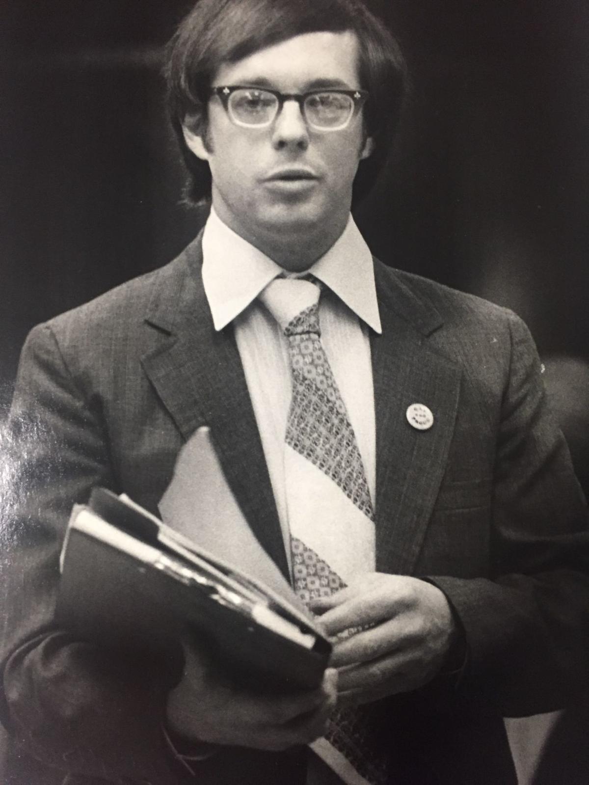 Bruce Garnett of Richmond Gay Rights Association