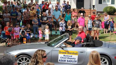Crowds flock to Village for Powhatan Labor Day Parade