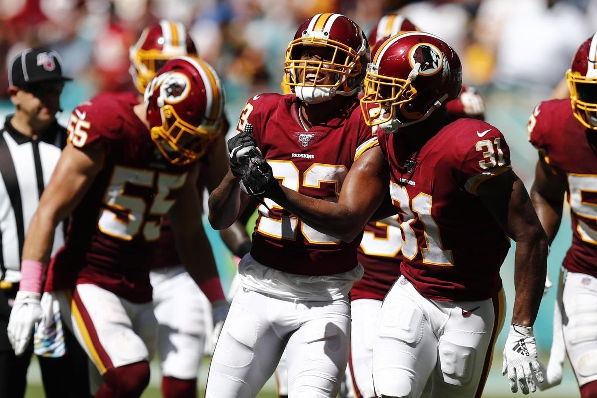 Redskins Dolphins Football