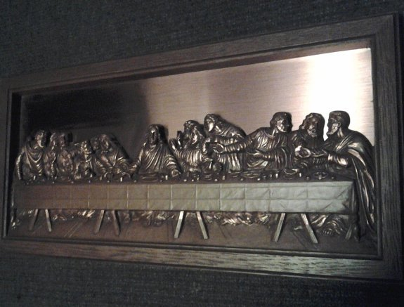 What S It Worth Besserdich Sculpture Coppercraft Guild Wall Hanging The Last Supper