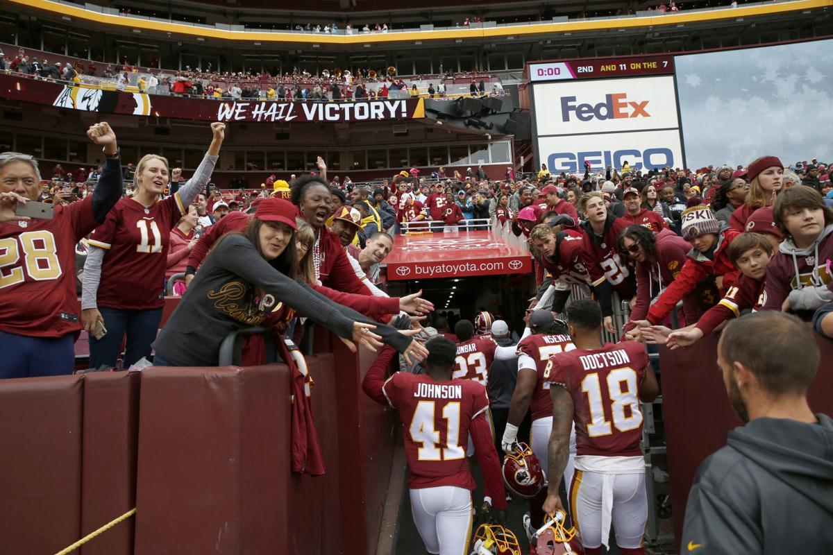 Washington Redskins vs. Carolina Panthers football