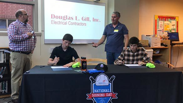 Powhatan High School holds first CTE signing day