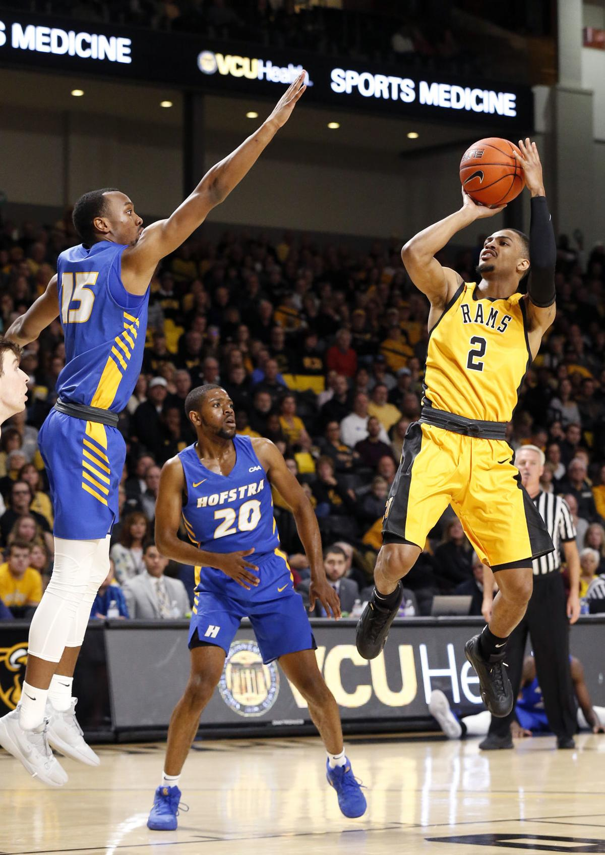 vcu outlasts hofstra for 69 67 victory in overtime vcu