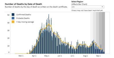 Virginia covid deaths