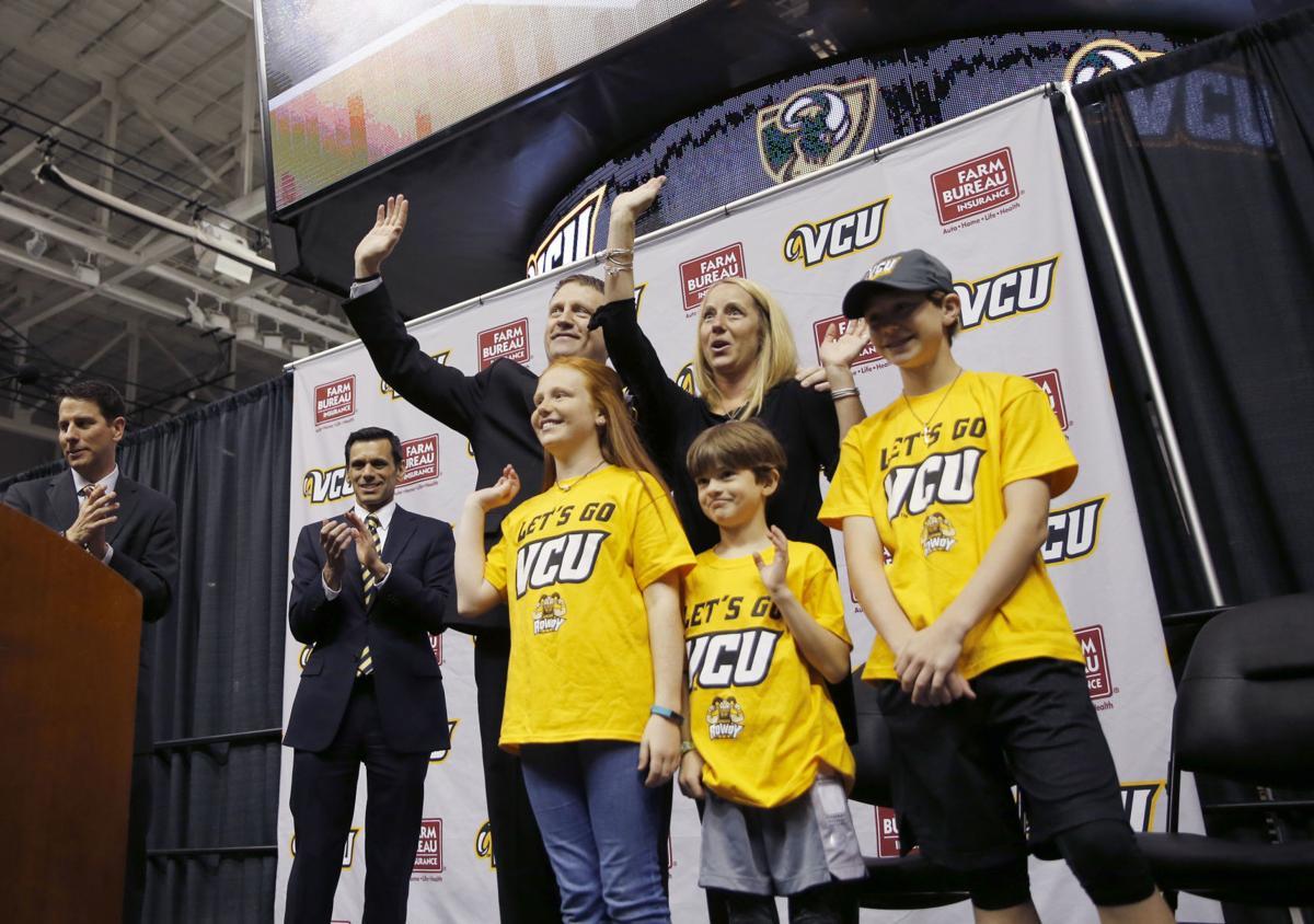 New VCU men's basketball head coach Mike Rhoades