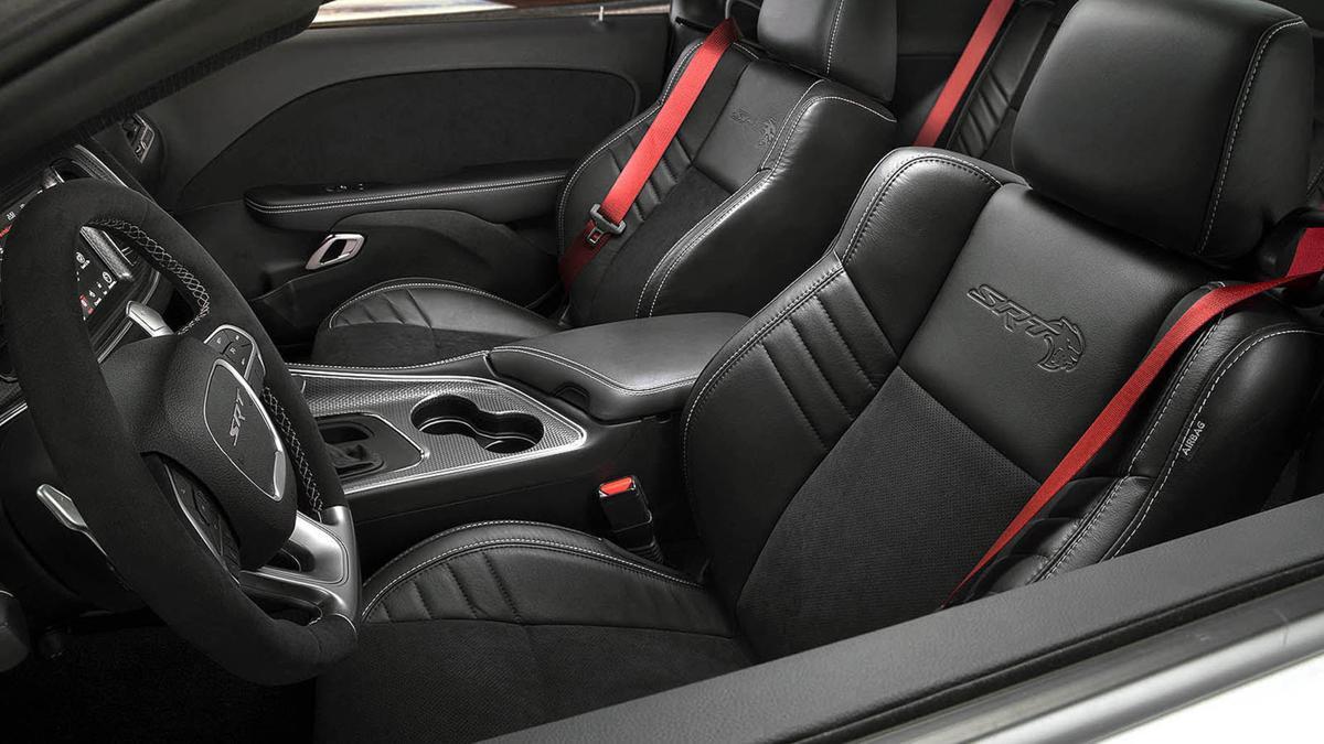2019 Dodge Challenger SRT Hellcat Redeye interior
