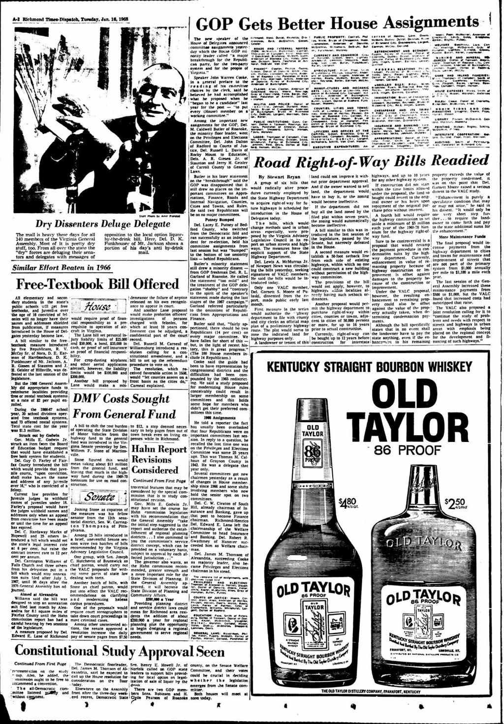 From the archives: 50 years ago, liquor by the drink led a