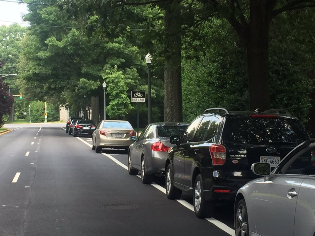 Richmond police say they can\'t stop cars from parking in bike ...
