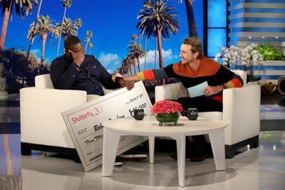 Carver teacher on The Ellen DeGeneres Show