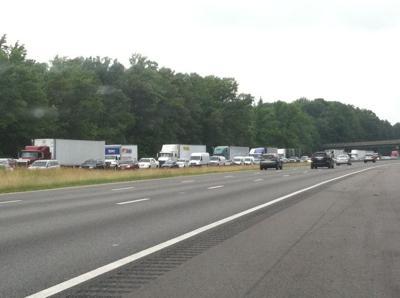 TRAFFIC UPDATE: Caroline wreck slows traffic on I-95 south | Traffic