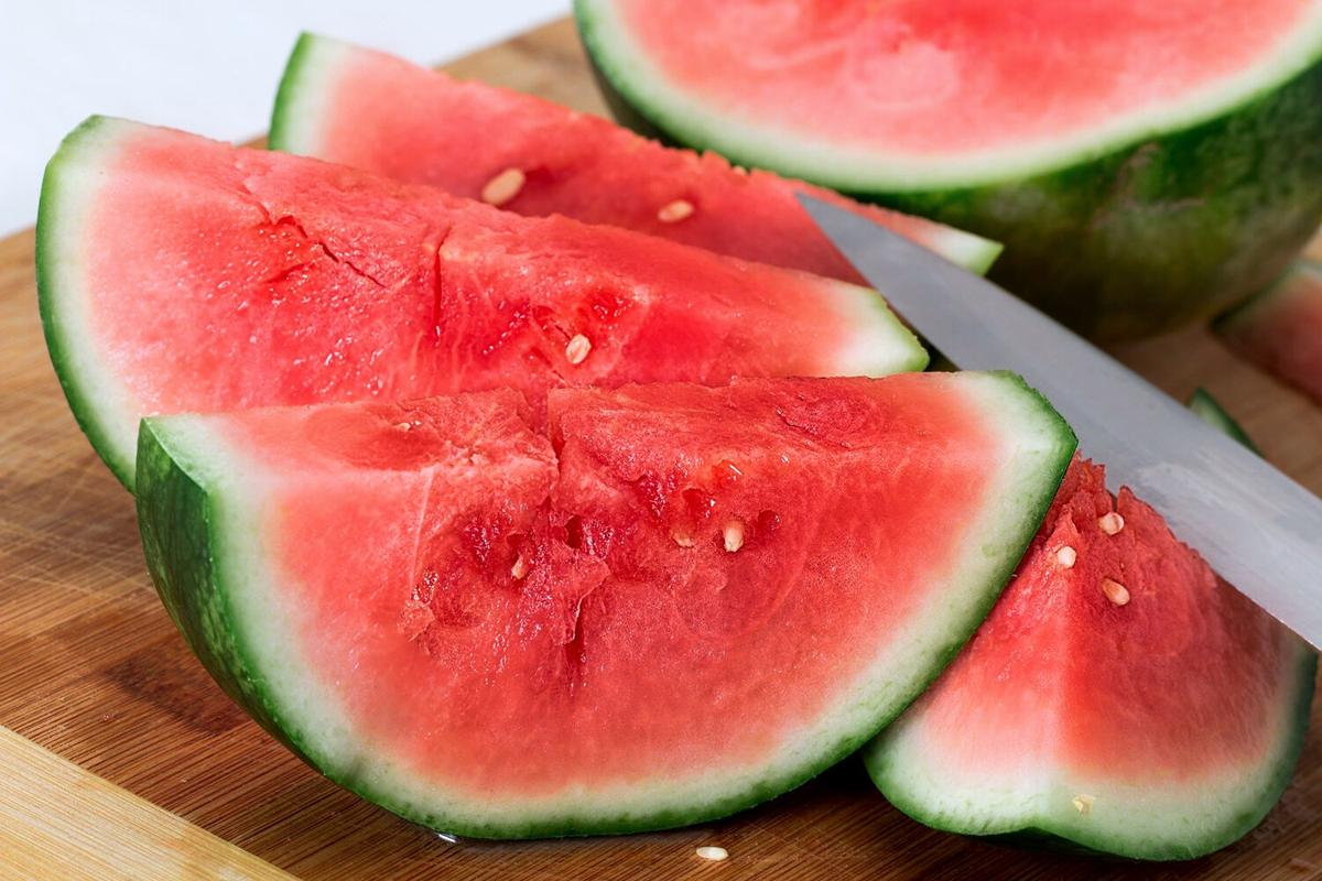 Watermelon with white seeds