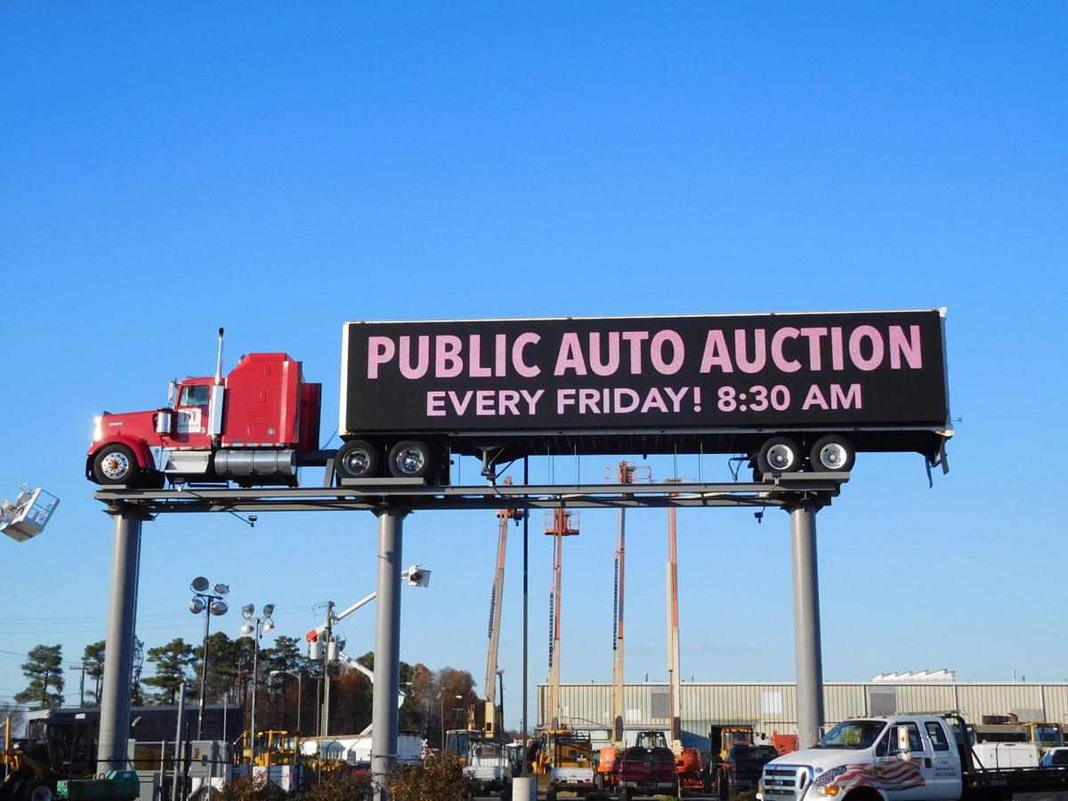 Richmond Auto Auction >> Motley S Tractor Trailer In The Sky Gets Digital Display Local