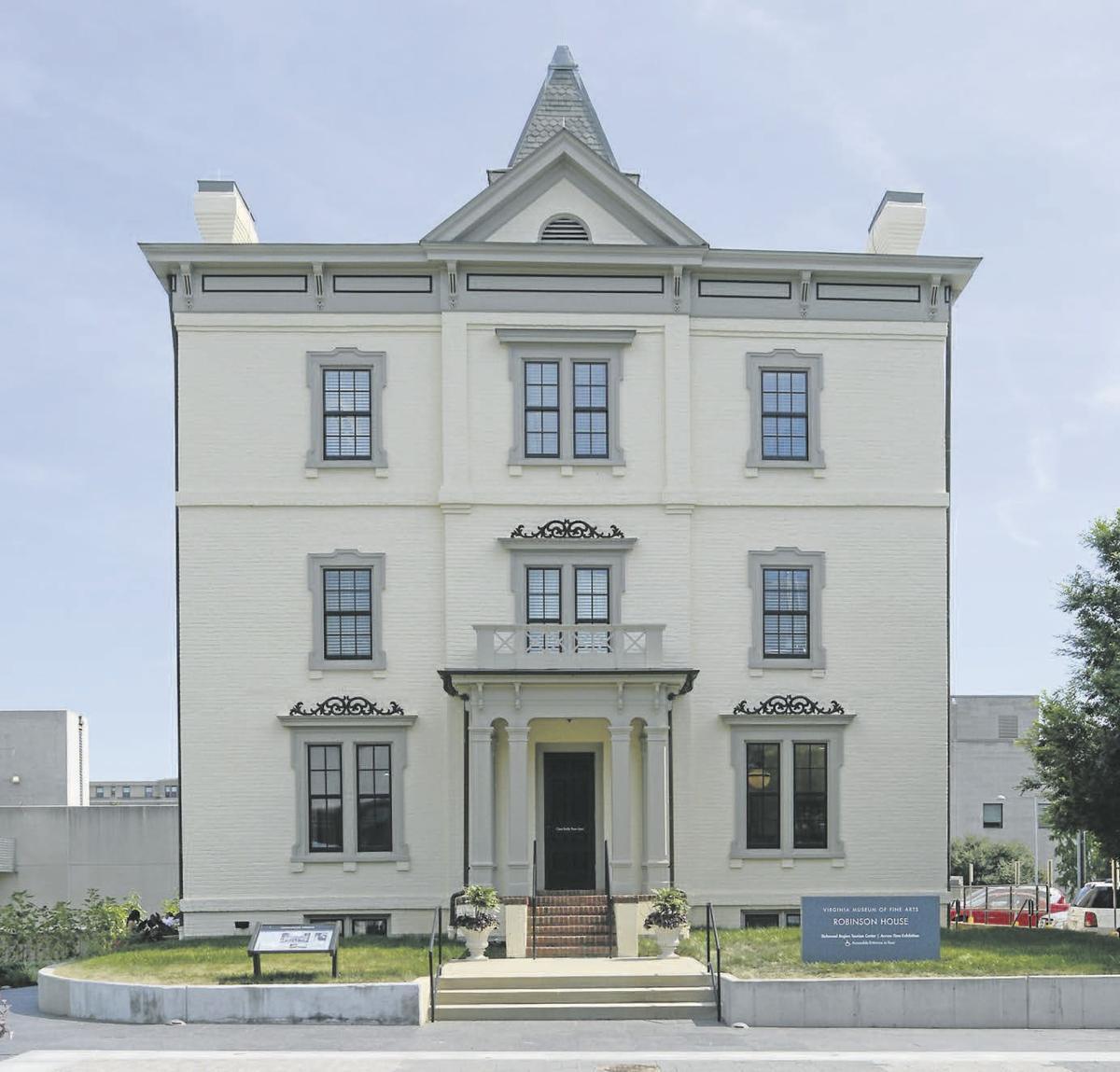 The Robinson House: 01
