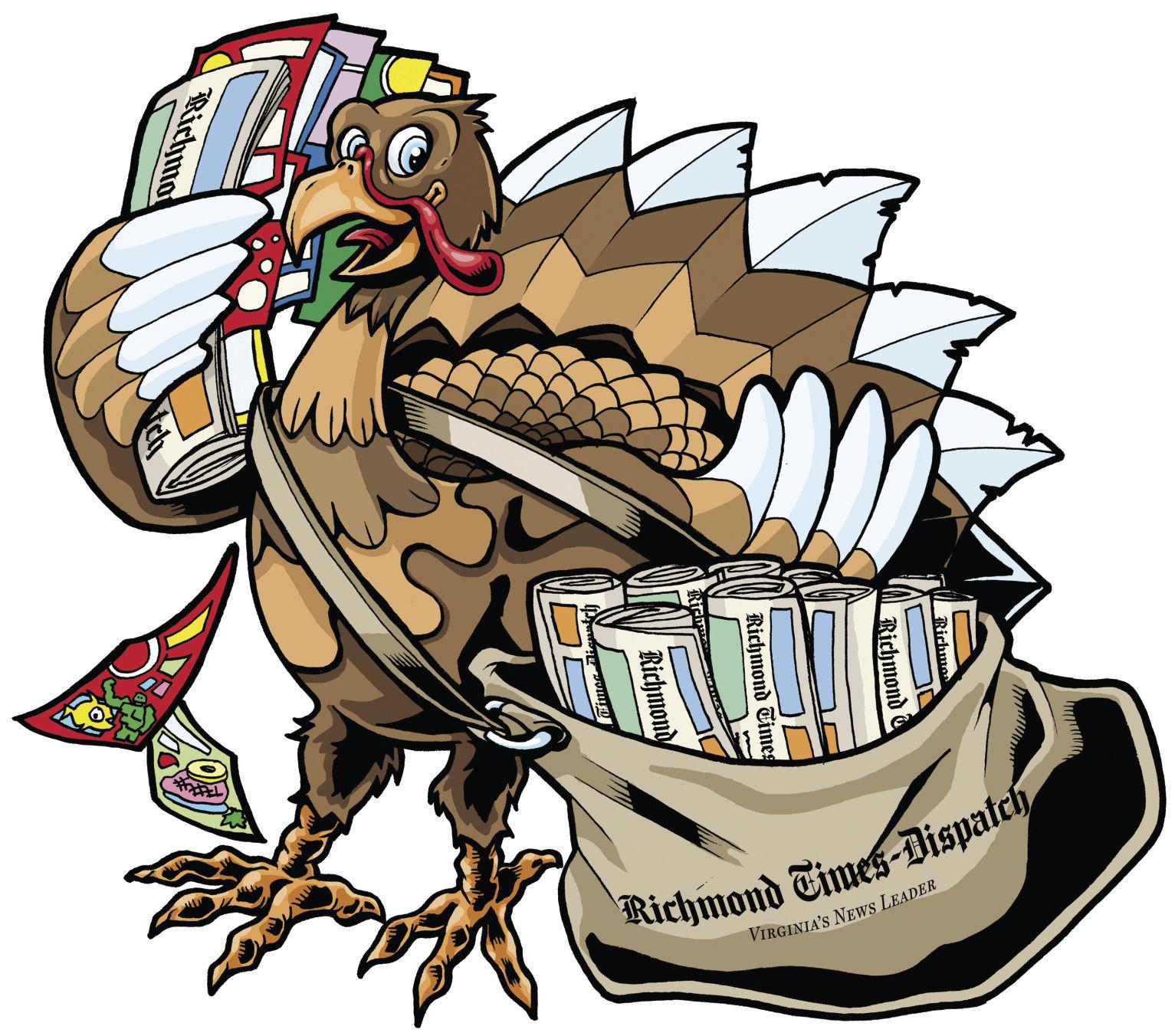 Thanksgiving Day Newspaper
