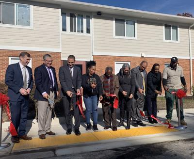 Hope Village ribbon cutting ceremony