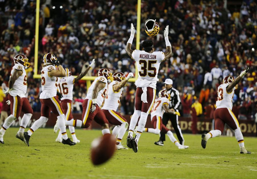 Redskins claim first place in NFC East with dramatic victory over Cowboys