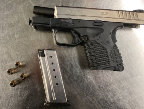 .40-caliber pistol found in Chesterfield woman's carry-on bag