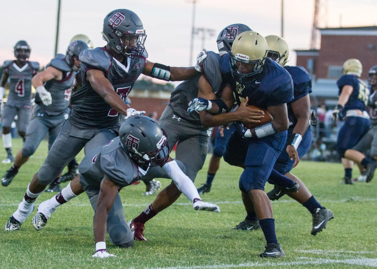 A look at this weekend's high school football games