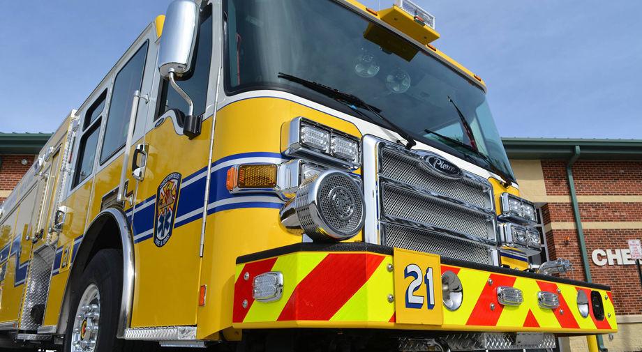 Chesterfield fire truck