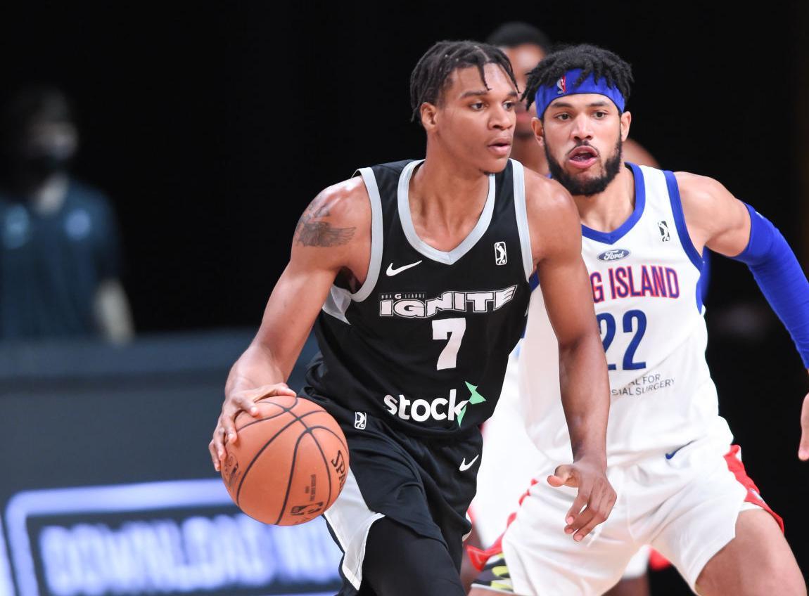 Long Island Nets v G League Ignite