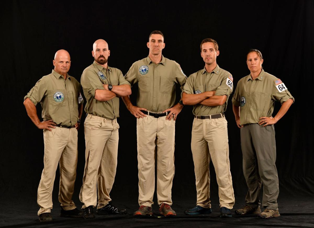 Team Photo - photo credit Amazon - L to R Kevin Howser, Joshua Forester, Jesse Tubb, Jesse Spangler, Caitlin Thorn.jpg