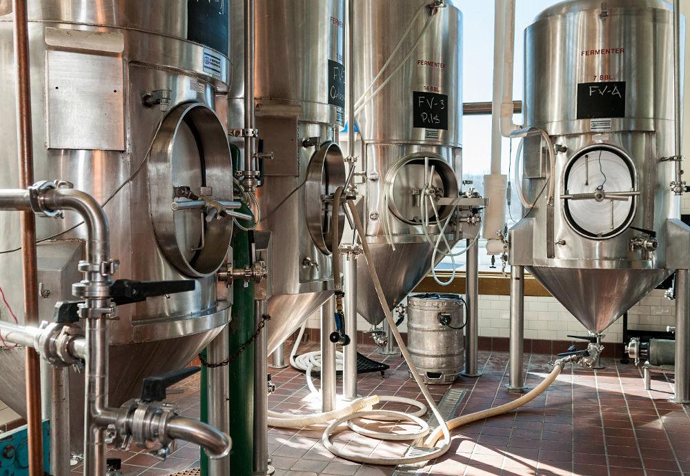 Extra Billy's brewing room