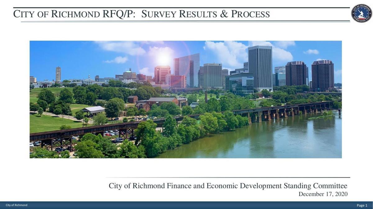Richmond casino survey preliminary results