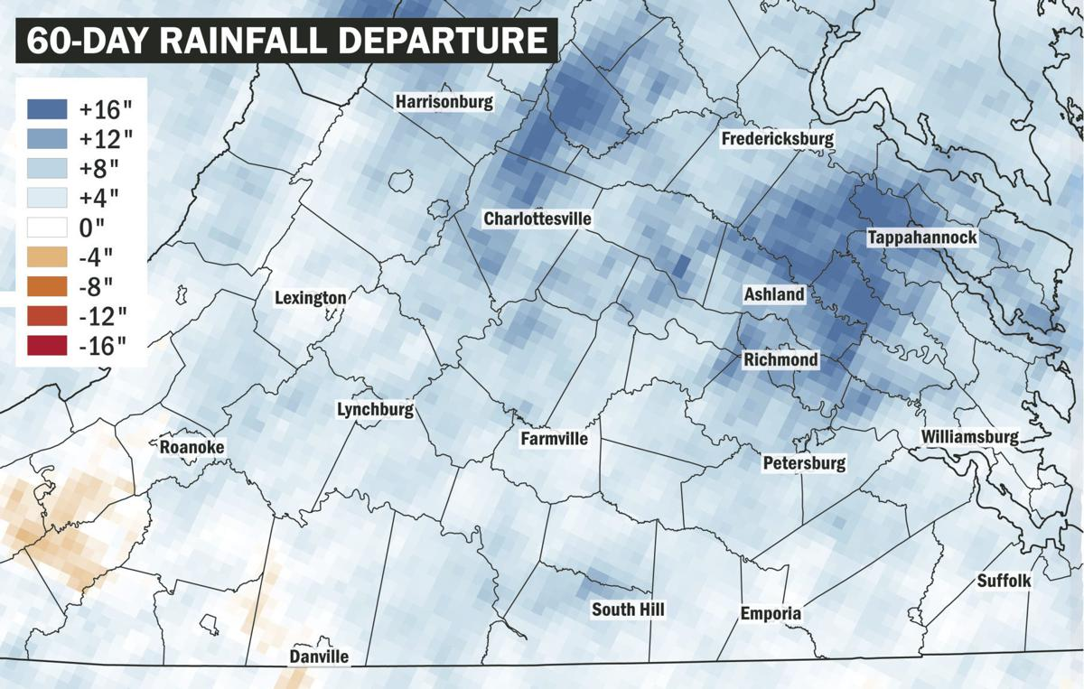 60-day rainfall departure