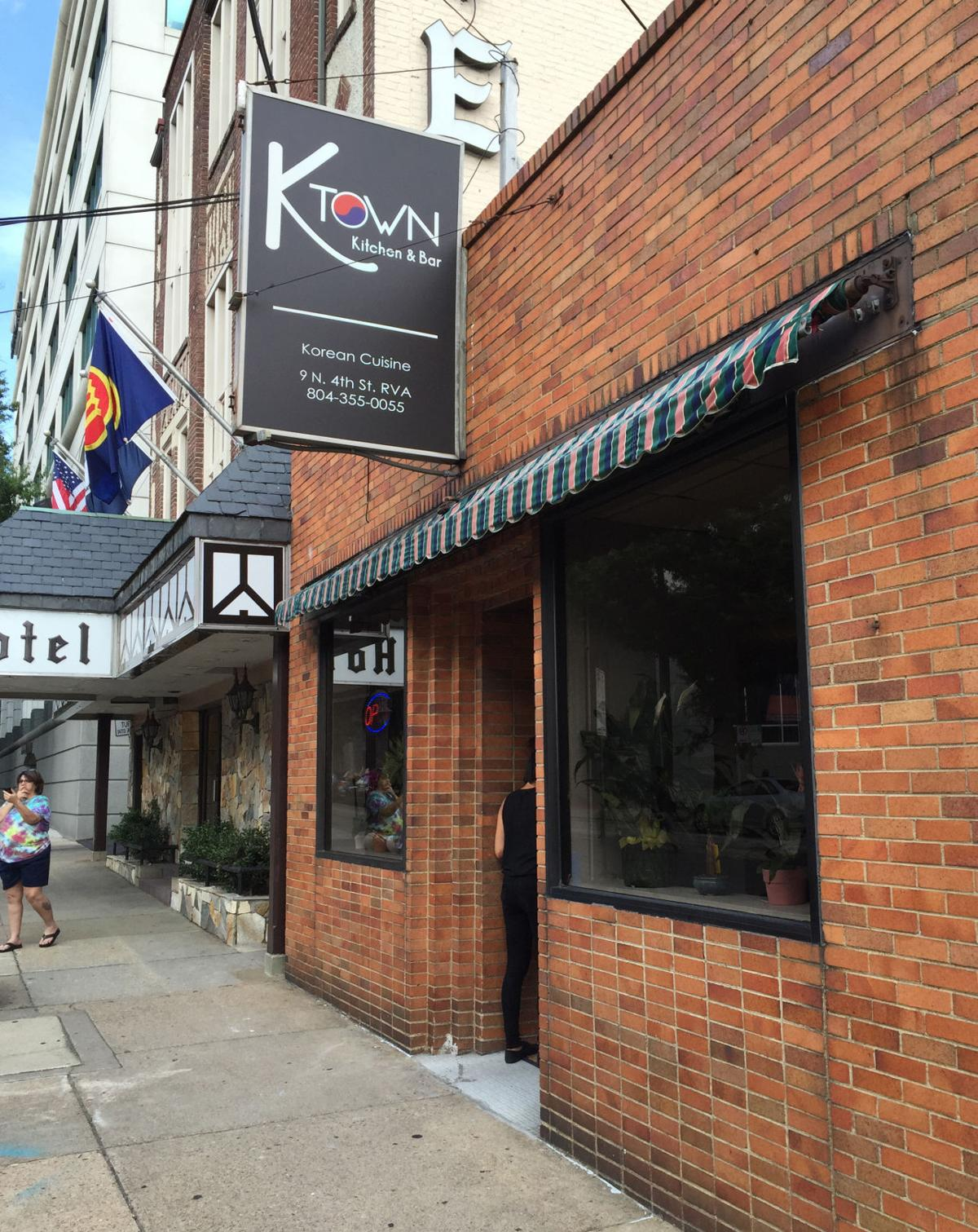 k-town kitchen and bar is now open on 4th st. in downtown richmond