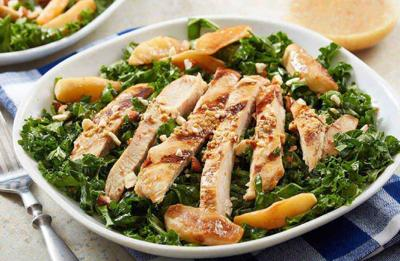 Recipe of the Day: Hard Apple Cider-Glazed Chicken Kale Salad