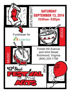 43rd Festival of the Arts Flyer