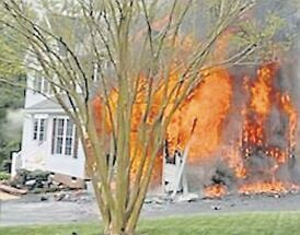 Multiple crews respond to blaze at Laurel Meadows house