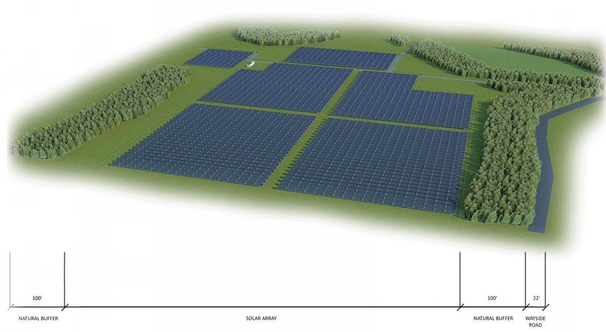 Charles City solar project