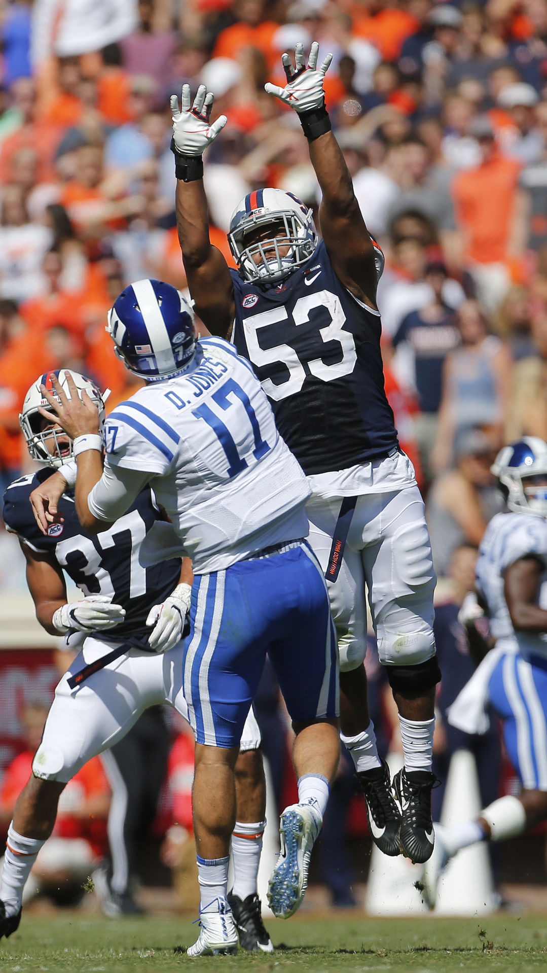 Woody The Parents Of Uva S Micah Kiser Invested Themselves
