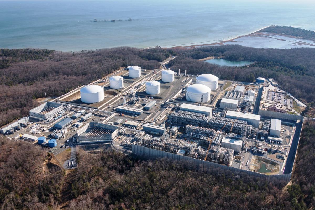 Dominion Energy S Cove Point Liquid Natural Gas Facility