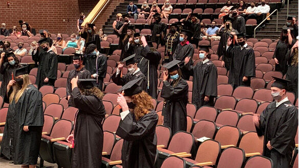 Powhatan High School holds five graduations for Class of 2020
