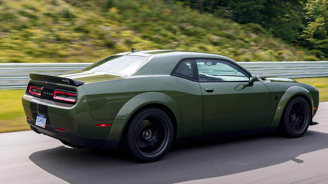 2020 dodge challenger horsepower hungry now in a widebody richmond drives vehicle features richmond com 2020 dodge challenger horsepower