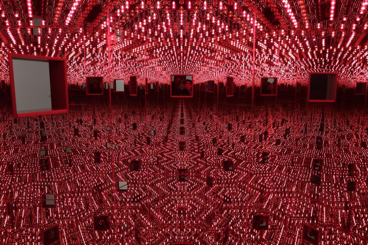 The \'radical connectivity\' of Yayoi Kusama Infinity Mirror Rooms ...