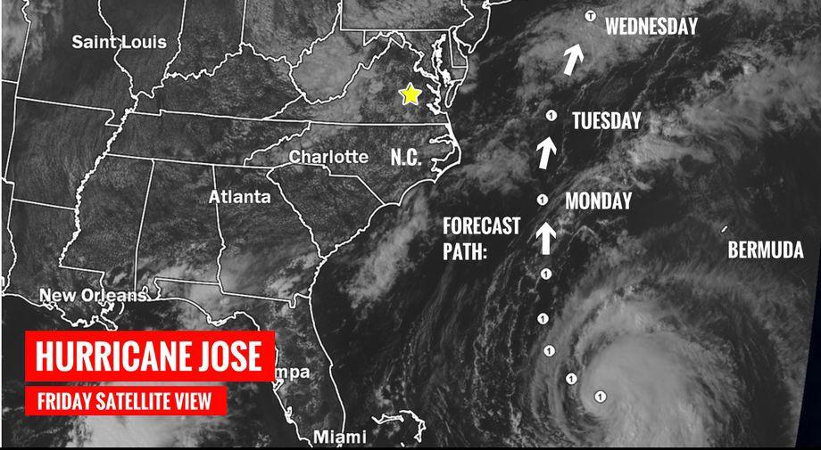 Maria becomes a hurricane