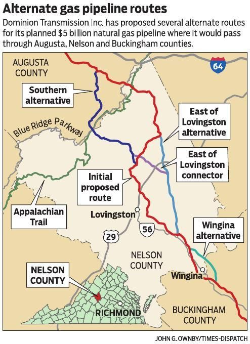 Alternative pipeline routes create new aches in Nelson ... on