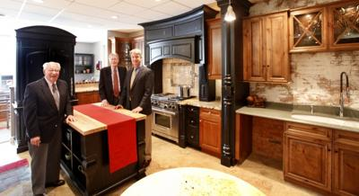 David Center And Richard Hendrick Grew Up In The Family Business Custom Kitchens Started By Their Father Arthur Left