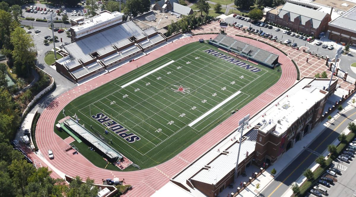When it built robins stadium the university of richmond signaled it was satisfied to compete in the football championship subdivision